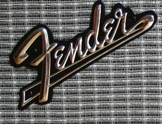 "Fender amplifier - Fender amp ""tailed"" logo"