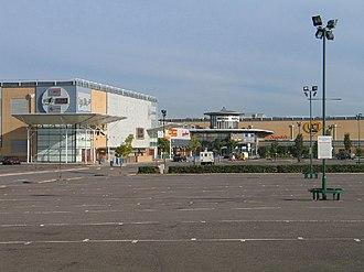 "Basildon - Festival Leisure Park also known as ""Bas Vegas"""
