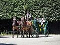 Fiaker at Rusten alley, Schönbrunn.jpg