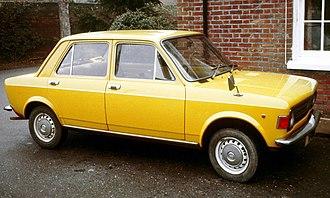 Fiat 128 - Image: Fiat 128 Kent UK