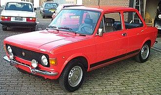 Fiat 128 - 1972 Fiat 128 Rally