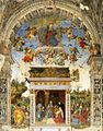 Filippino Lippi - Altar wall of the Carafa Chapel - WGA13123.jpg