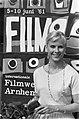 Filmweek Arnhem Filmactrice Bibi Andersson voor affiche Filmweek, Bestanddeelnr 912-5648.jpg