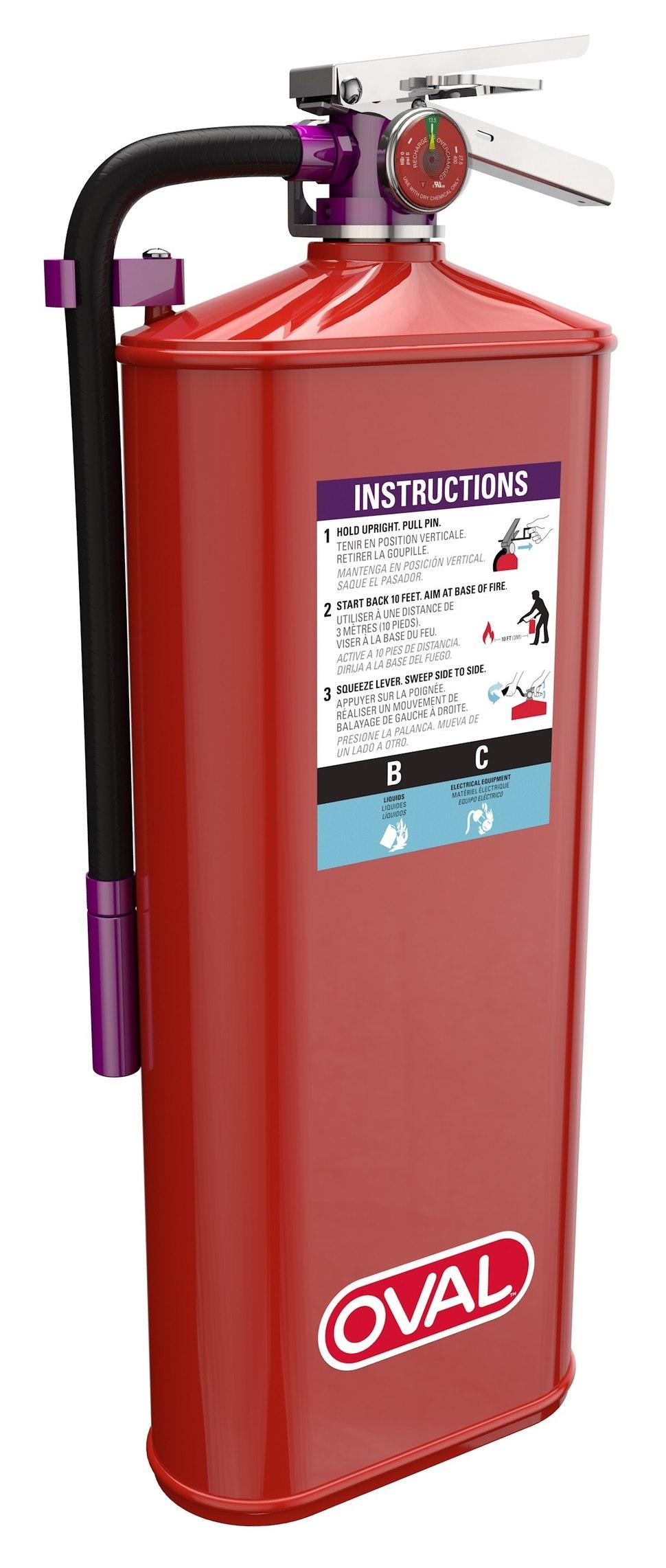 Fire Extinguisher PKP Purple K