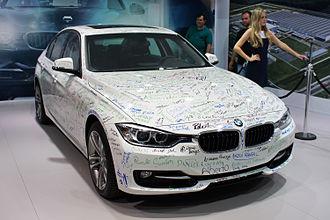 Araquari - First BMW manufactured in Brazil