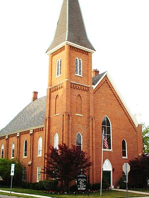 Union County, Ohio - First Congregational Church, Marysville