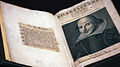 First Folio of William Shakespeare's plays at the Victoria & Albert Museum.jpg