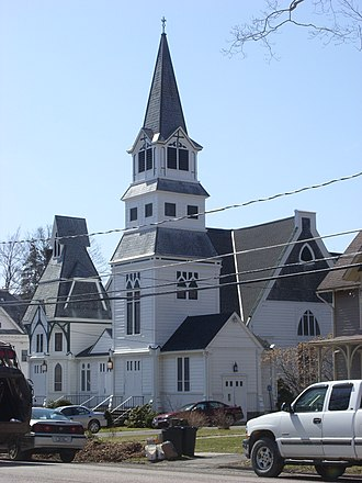 Delhi, New York - First Presbyterian Church in Delhi