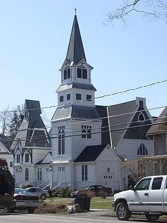 Delhi, New York - First Presbyterian Church in Delhi