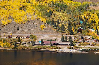 Utah State Route 25 - Image: Fish lake lodge mytoge