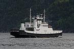 Fjord1 Ferry Geiranger, as seen from Eidsdal 20150604 1.jpg