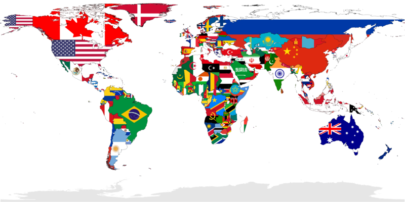 File:Flag-map of the world.png