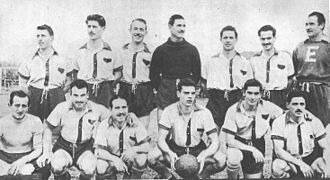 Club Social y Deportivo Flandria - The 1952 Flandria squad, which won the championship promoting to Primera C.