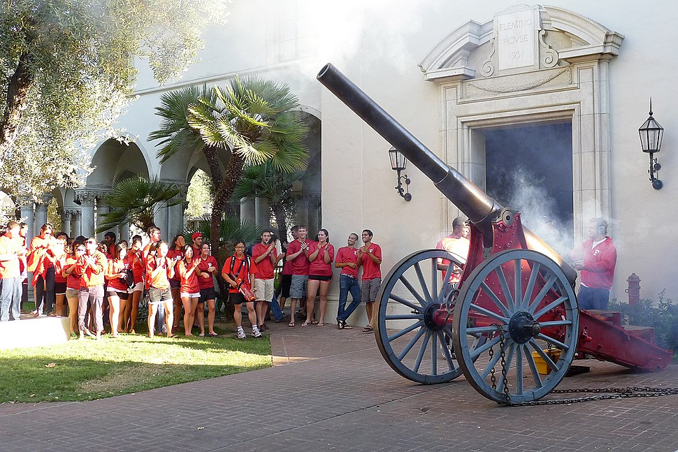 Fleming cannon firing