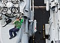 Flickr - Official U.S. Navy Imagery - A Sailor performs maintenance ..jpg