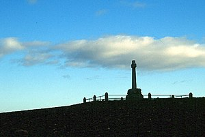 Marmaduke Constable - Memorial at Flodden Field, where Marmaduke Constable commanded the left wing
