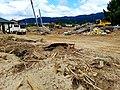 Flood recovery efforts - debris removal in Asakura in August.jpg