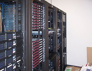 Web hosting service - Multiple racks of servers