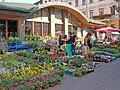 Flower Market Soborna Square Lemberg.JPG