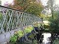 Flowers on the Footbridge at Forres - geograph.org.uk - 1512520.jpg
