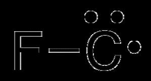 Fluoromethylidyne - Image: Fluoromethylidyne