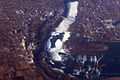 Flying over Niagara Falls 2009 03 06 sfo-bos 301.jpg