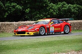 Ferrari 575M Maranello - Ferrari 575 GTC