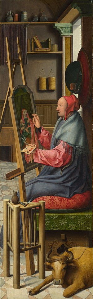 Saint Luke painting the Virgin and Child