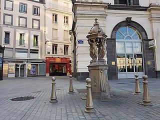 Wallace fountain, place de Jaude