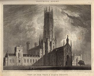 Fonthill Abbey folly