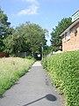 Footpath - Summerfield Drive - geograph.org.uk - 1368674.jpg