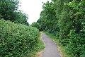 Footpath alongside the railway line - geograph.org.uk - 1366706.jpg