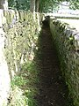 Footpath between 2 drystone walls, near Haworth - geograph.org.uk - 227126.jpg