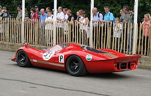 Ford P68 - A Ford P68 on display at the Goodwood Festival of Speed.