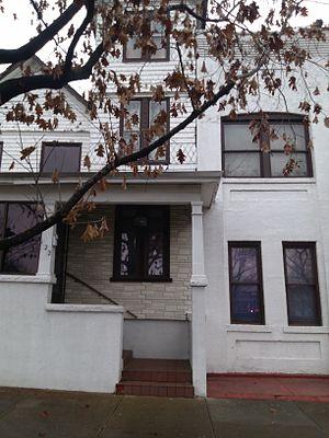 Berkley, Virginia - Location of old metropolitan funeral home built in 1888.