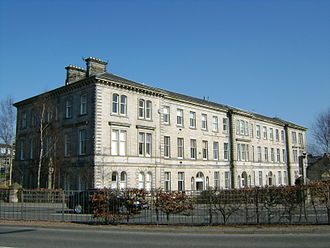 Dunfermline - Erskine Beveridge company offices, now converted into flats