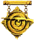 Ex-Exército dos EUA Distinguished Automatic Rifleman Badge.png