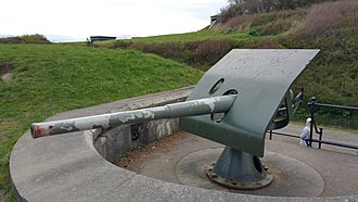 3-inch gun M1903 - 3-inch gun M1903 at Fort Casey, Washington state, formerly at Fort Wint, Subic Bay, Philippines.