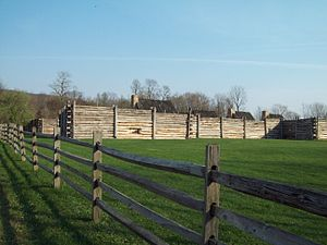 Tyrone Township, Blair County, Pennsylvania - Reconstruction of Fort Roberdeau