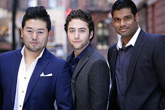 Forte (vocal group) - FORTE (l–r): Hana Ryu, Josh Page, Sean Panikkar