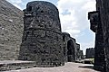 Fortification wall arrangement at Daulatabad fort entrance.jpg