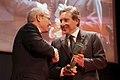 Fotografia del president lliurant el Premi Blanquerna.jpg