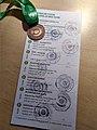 Fotografija kontrolnega kartončka z žigi in medalje za opravljen en krog.jpg