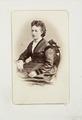 Fotografiporträtt på Emma von Legat - Hallwylska museet - 107777.tif
