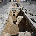 Fouilles archéologiques place Pey Berland Bordeaux 1.jpg