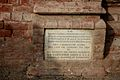 Foundation Stone for an individual unit by a private philanthropist, Aitchison College.jpg