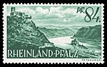 Fr. Zone Rheinland-Pfalz 1947 14 Pfalz bei Kaub, Burg Gutenfels.jpg
