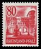 Fr. Zone Rheinland-Pfalz 1948 40 Porta Nigra, Trier.jpg