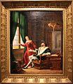François Ier montre à Marguerite de Navarre, sa sœur, les vers qu'il vient d'écrire sur une vitre avec son diamant - Fleury François Richard - MBA Lyon 2014.jpg