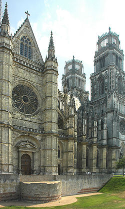 France Orleans Cathedrale rempart 01.jpg